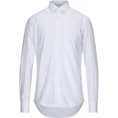 ランバン LANVIN メンズ シャツ トップス Striped Shirt White