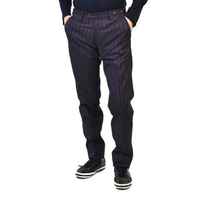 ピーティーゼロウーノ パンツ PT01 MAESTRO GRAVEN FIT NS01ZT0MA1 0660 ネイビー レッド ギフト プレゼント