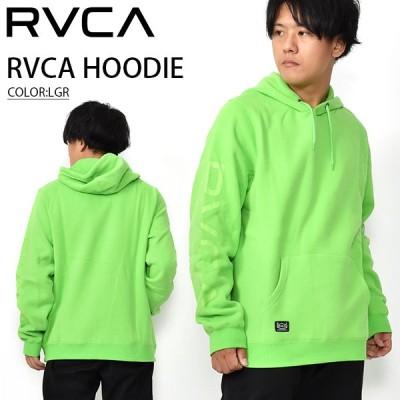 プルオーバーパーカー RVCA ルーカ メンズ RVCA HOODIE グリーン 緑 ロゴ フーディー 2020秋冬新作 25%off