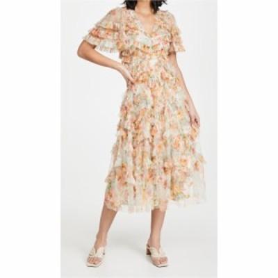 ニードル アンド スレッド Needle and Thread レディース ワンピース Vネック ワンピース・ドレス Sunset Garden V Neck Ballerina Dress
