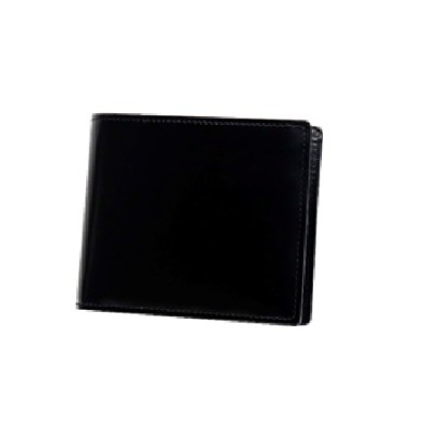 [VD-02] SOMES VD-02 2つ折財布(ブラック)