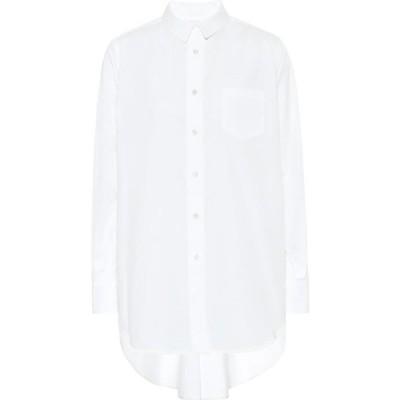 サカイ Sacai レディース ブラウス・シャツ トップス poplin shirt White