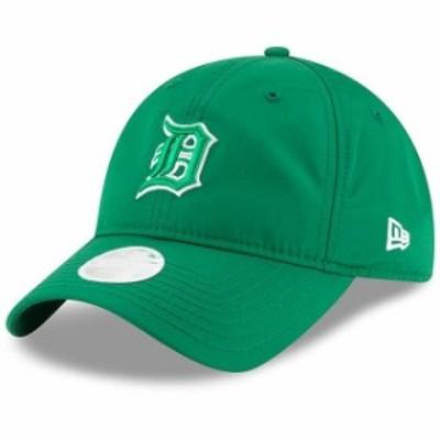 New Era ニュー エラ スポーツ用品  New Era Detroit Tigers Womens Green 2018 St. Patricks Day Prolight 9TWENTY Adjustable Hat