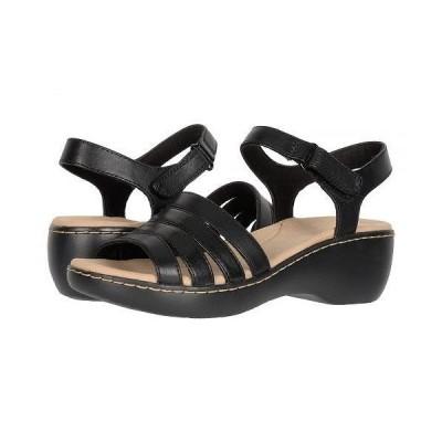 Clarks クラークス レディース 女性用 シューズ 靴 ヒール Delana Brenna - Black Leather