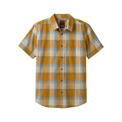 プラーナ Prana メンズ 半袖シャツ スリム トップス Benton Shirt- Slim Plaster