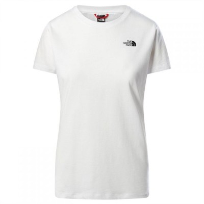 ザ ノースフェイス The North Face レディース Tシャツ トップス Simple Dome T Shirt TNF White FN