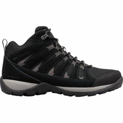 コロンビア メンズ ブーツ・レインブーツ シューズ Redmond V2 Mid WP Hiking Boot Black/Dark Grey