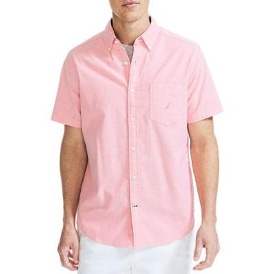 ナウティカ メンズ シャツ トップス Classic Fit Oxford Shirt