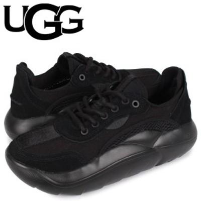 UGG アグ スニーカー クラウド ロー レディース LA CLOUD LOW ブラック 黒 1107945