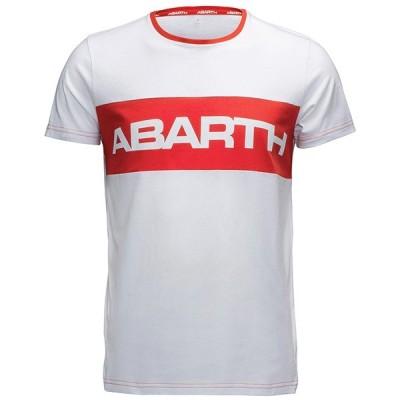 アバルト純正 Tシャツ-レッドストライプ-