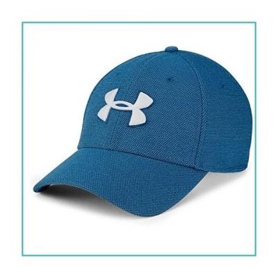 Under Armour Men's Heathered Blitzing 3.0 Cap , Moroccan Blue (487)/White , Medium/Large【並行輸入品】