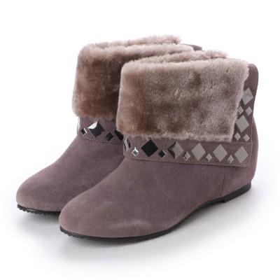 シューズラウンジ shoes lounge ショートブーツ 6030364GYS (グレー)