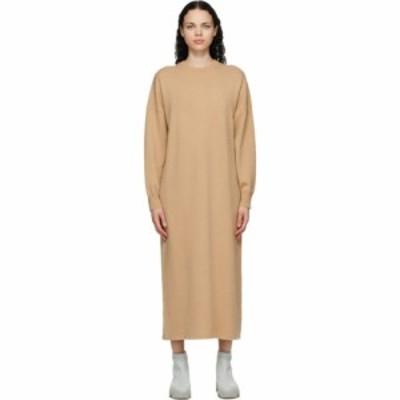 エクストリーム カシミア Extreme Cashmere レディース ワンピース ミドル丈 ワンピース・ドレス Tan Cashmere Weird Midi Dress Camel