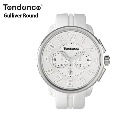 TENDENCE テンデンス Round Gulliver  ガリバーラウンド TD02036013AA ホワイト&シルバー 腕時計 ウォッチ