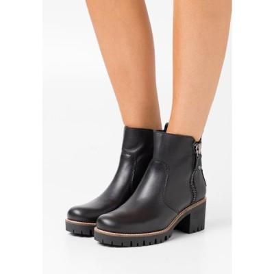 レディース 靴 シューズ PAULINE TRAVELLING - Ankle boots - black