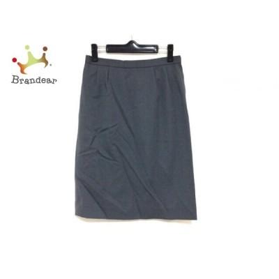 レリアン Leilian スカート サイズ9 M レディース ダークグレー       スペシャル特価 20200925