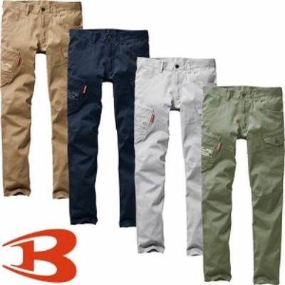 バートル BURTLE 作業服 カーゴパンツ ストレッチカーゴパンツ 582 作業着 通年 秋冬 2020年新作 メンズ