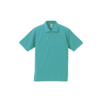 (ユナイテッドアスレ)UnitedAthle 5.3オンス ドライカノコ ユーティリティー ポロシャツ 505001 [メンズ] 024 ミントグリーン XS