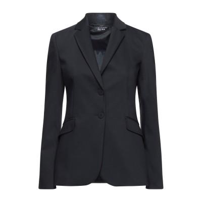 CARACTÈRE テーラードジャケット ブラック 42 コットン 63% / ナイロン 32% / ポリウレタン 5% テーラードジャケット