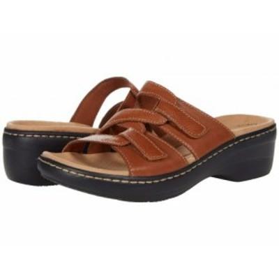 Clarks クラークス レディース 女性用 シューズ 靴 ヒール Merliah Karli Tan Leather【送料無料】