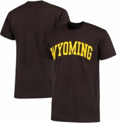 Fanatics Branded ファナティクス ブランド スポーツ用品  Wyoming Cowboys Brown Basic Arch T-Shirt