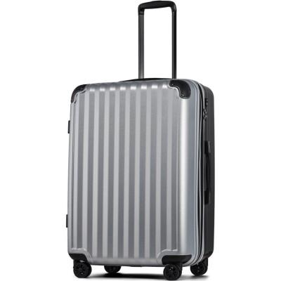 【タビバコ】 スーツケース LLサイズ 静音8輪キャスター 軽量 大容量 拡張 TSAロック 受託手荷物無料 キャリーバッグ キャリーケース? ユニセックス その他系6 L tavivako