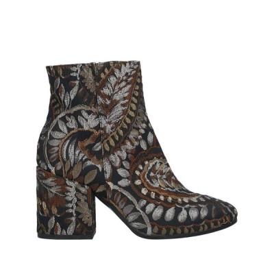 LORETTA PETTINARI ショートブーツ  レディースファッション  レディースシューズ  ブーツ  その他ブーツ ブラック