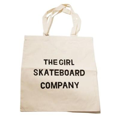 Girl Skateboard (ガール) エコバッグ トートバッグ カバン Sans Tote Canvas スケボー SK8 スケートボード HARD CORE PUNK ハードコア パンク HIPHOP