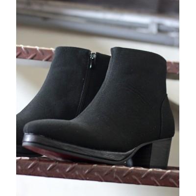 ZealMarket/SFW / ハイヒールショートブーツ/ヒールブーツ MEN シューズ > ブーツ