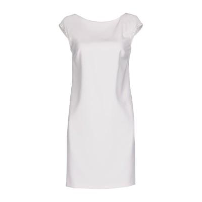アトス ロンバルディーニ ATOS LOMBARDINI ミニワンピース&ドレス ホワイト 40 ポリエステル 88% / ポリウレタン 12% /