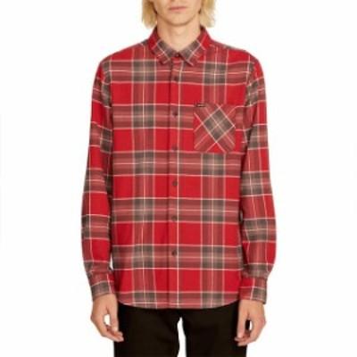 volcom ボルコム ファッション 男性用ウェア シャツ volcom caden-plaid