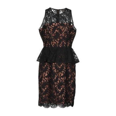 リュー ジョー LIU •JO ミニワンピース&ドレス ブラック 38 36% ナイロン 34% レーヨン 30% コットン ミニワンピース&ドレス