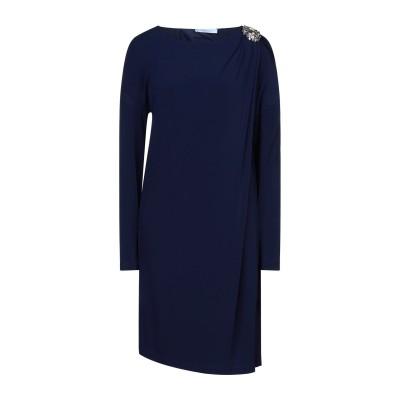 ブルマリン BLUMARINE ミニワンピース&ドレス ブルー 46 94% レーヨン 6% ポリウレタン ミニワンピース&ドレス