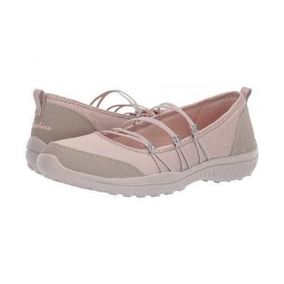 SKECHERS スケッチャーズ レディース 女性用 シューズ 靴 フラット Be-Lite - What-A-Twist - Taupe