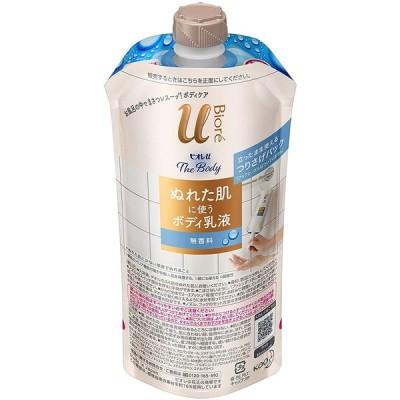 花王 ビオレu ザ ボディ ぬれた肌に使うボディ乳液 無香料 つりさげパック単体 300ml