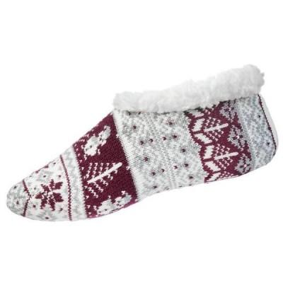 ノースイースト レディース 靴下 アンダーウェア Northeast Outfitters Women's Snowman Cozy Cabin Slipper Socks