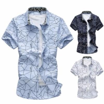 カジュアル 半袖 クラシック チェックシャツ オシャレ ネルシャツ ファッション メンズ