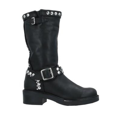 CRISTIN ショートブーツ ブラック 35 革 ショートブーツ