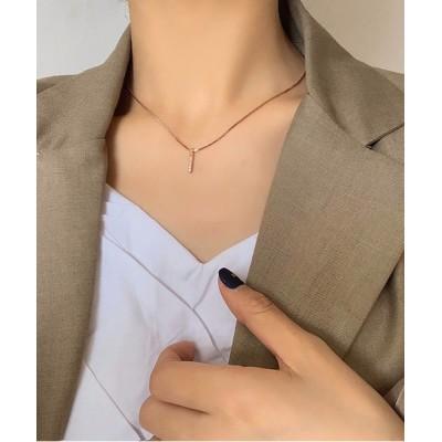 FRP / 925シルバークリスタルネックレス WOMEN アクセサリー > ネックレス