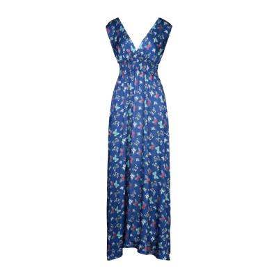 PEPITA ロングワンピース&ドレス ブルー 40 ポリエステル 100% ロングワンピース&ドレス