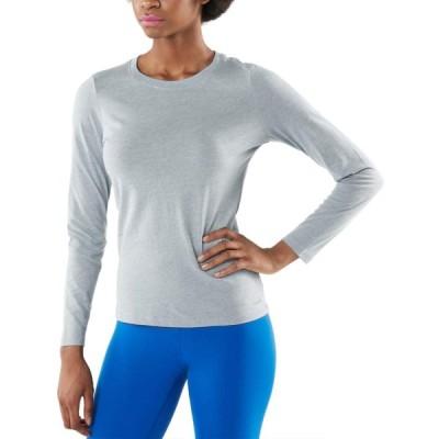 (テスラ)TESLA レディース 長袖 Tシャツ なめらか コットン ドライ スポーツシャツ [UVカット・吸汗速乾] アクティブ ロングスリーブ カ