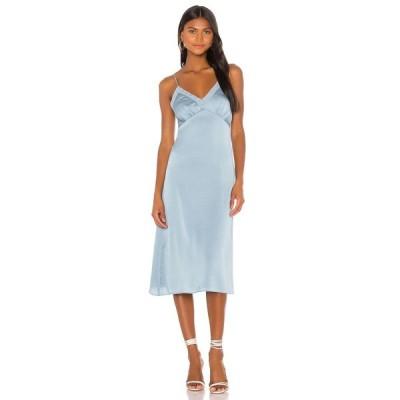 プライバシー プリーズ Privacy Please レディース ワンピース ミドル丈 ワンピース・ドレス Kamila Midi Dress Light Blue