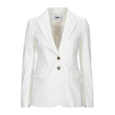 マウロ グリフォーニ MAURO GRIFONI テーラードジャケット ホワイト 38 コットン 97% / ポリウレタン 3% テーラードジャケット