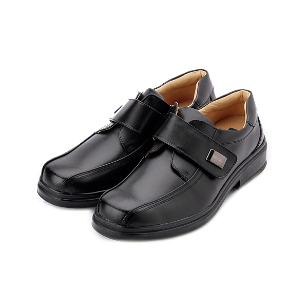 BONJO 經典專利呼吸底紳仕鞋 黑 男款