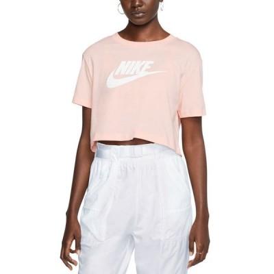ナイキ レディース Tシャツ トップス Women's Sportswear Cotton Logo Cropped T-Shirt