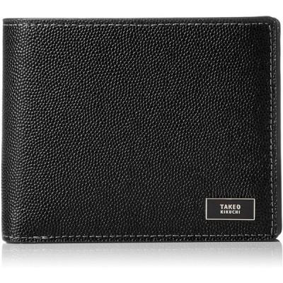 [タケオキクチ] 財布 中ベラ付 スクール小物 745615 クロ