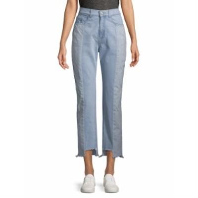 エティエンヌマルセル レディース パンツ デニム Two Tone Step Hem Jeans