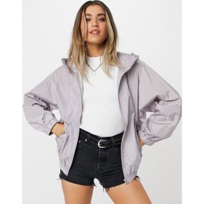 エイソス レディース ジャケット&ブルゾン アウター ASOS DESIGN bomber rain jacket in lilac Lilac