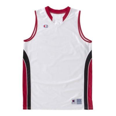 [チャンピオン] ジュニア ゲームシャツ バスケットボール CBYR2033 ボーイズ ホワイトR 160