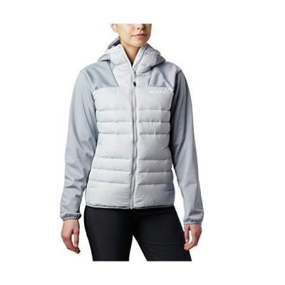 Columbia Women's Centennial Creek Down Hybrid Jacket, Cirrus Grey, Tradewinds Grey ,X-Large